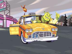 Shrek Cab Puzzle