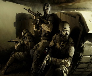 Soldiers Guns Puzzle