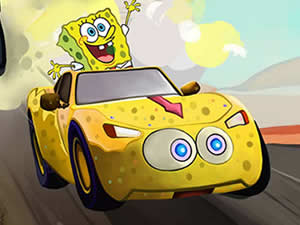 SpongeBob Car Puzzle