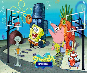 Spongebob Basketball Puzzle