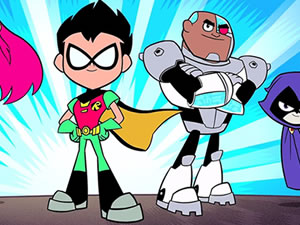 Teen Titans Jigsaw