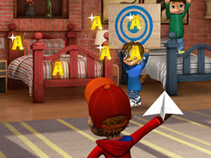 Alvin and Chipmunks: Paper Pilot