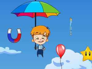 Umbrella Falling Guy