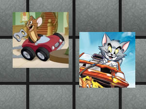 Tom and Jerry Racing Memory