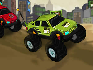 Ben10 Vs Rex Truck Champ