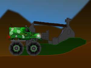 Military Monster Truck