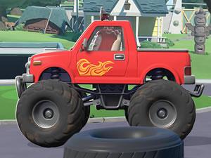 Oddbods Monster Trucks