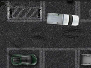 Pick Up Truck Parking