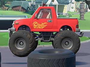 Oddbods Monster Trucks