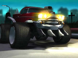 Zombie Smash Racing