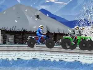 4x4 Winter ATV