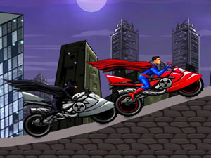 Batman vs Superman Race
