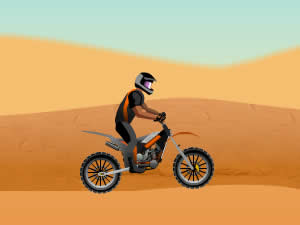 Dirt Bike Sahara Challenge