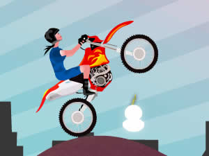 Stunt Girl Bike - Kids Games 4 All