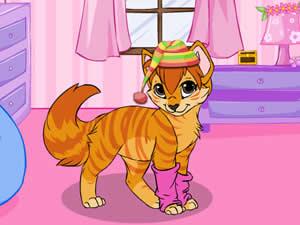 Cute Little Kitties Dress up