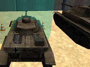 Army Tank Parking 3D