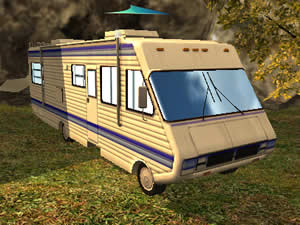 Camper Van Parking 3D