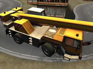 Construction Crane 3D Parking