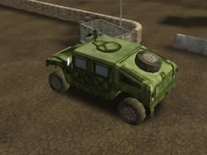 Off-Road Army Car