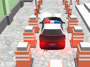 Police Parking Car