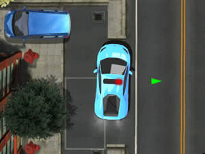 Supercar Police Parking