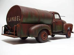 Oil Tanker Truck