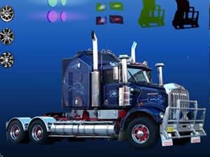 Super 18 Wheeler Truck