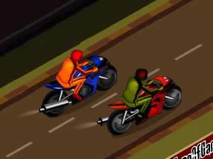 Drag Race Biker