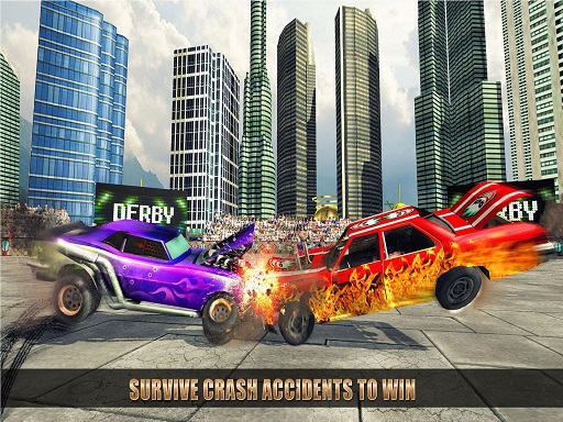 Extreme Car Battle Demolition Derby