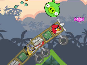 Angry Birds Crazy Racing