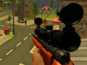 Zombie Town Sniper Shooting