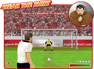 Wear the Shirt - Penalty Shootout