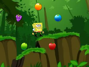 Jumping Spongebob
