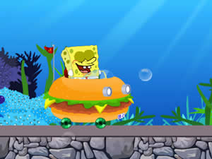 SpongeBob Burger Ride