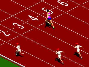 Olympic 100 m Sprinter