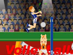 Olimpic Volleyball Spike