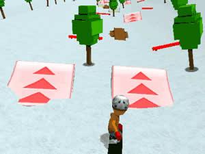 Ski Sim Cartoon