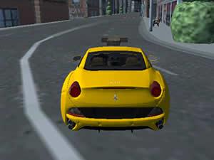 3D City Taxi Parking