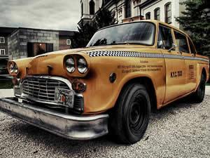 Old Taxi Jigsaw