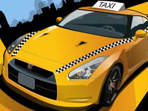 Taxi Rush Driving