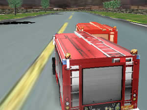 Fire Trucks Racer 3D
