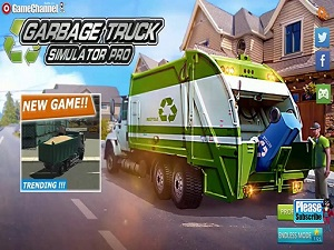 Garbage Truck Simulator: Recycling Driving Game