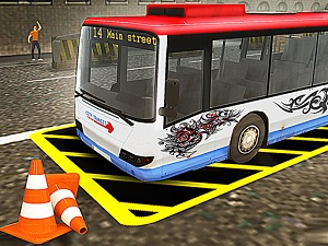 Vegas City Highway: Bus Parking Simulator