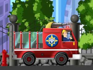 Fireman Sam Fire Truck