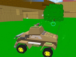Blocky Wars 3D Toonfare